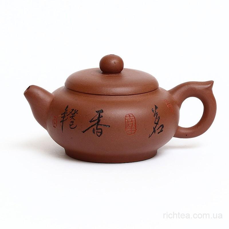 Чайник из исинской красной глины