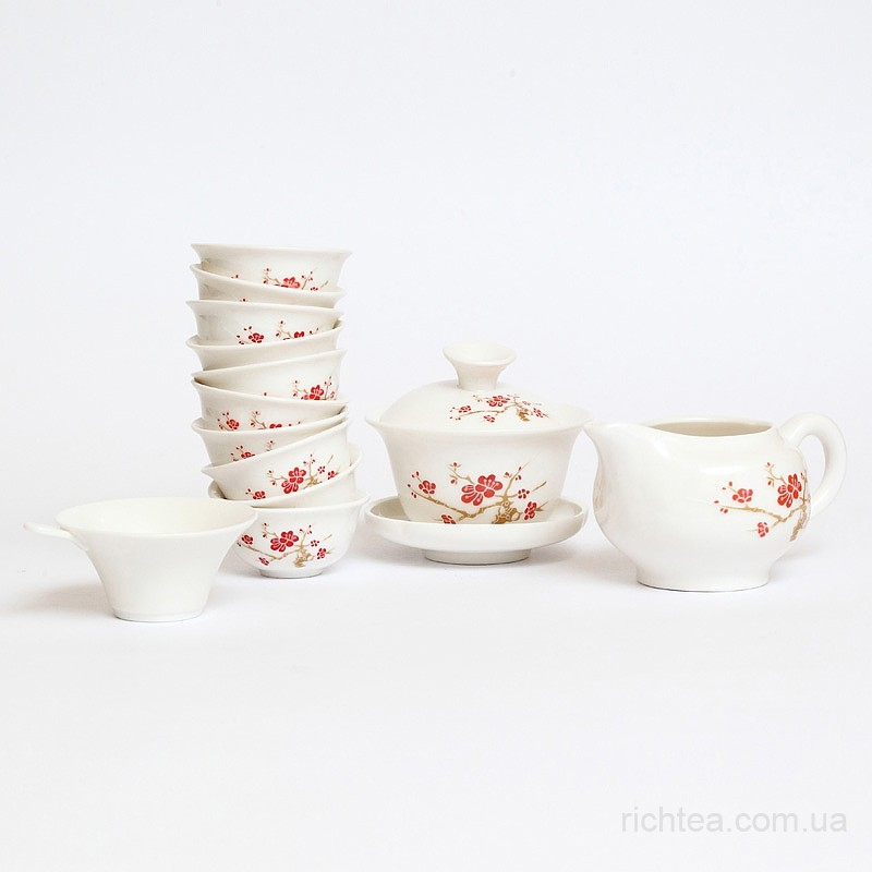 Фарфоровый сервиз для чайной церемонии