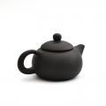 Чайник из глины 130 мл (Черный)